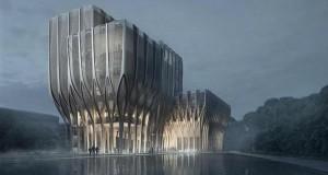 Новий дослідницький центр: злиття національної архітектури та футуризму