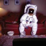 Шолом віртуальної реальності для психологічної підтримки космонавтів