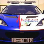 Найшвидша «швидка допомога» працює в Дубаї