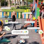 Віртуальні ігри на звичайному дитячому майданчику