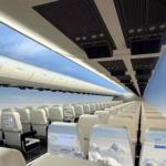 Замість вікон в літаках встановлюватимуть РК екрани