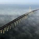 Міст через затоку Ханчжоувань в Китаї (фото+відео)