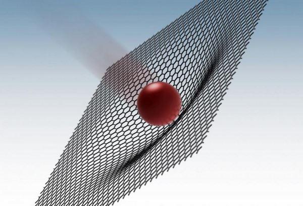 Графен витримує зіткнення з кулею краще сталі і кевлара (відео)