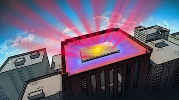 Спеціальне дзеркальне покриття дозволить охолодити будівлі