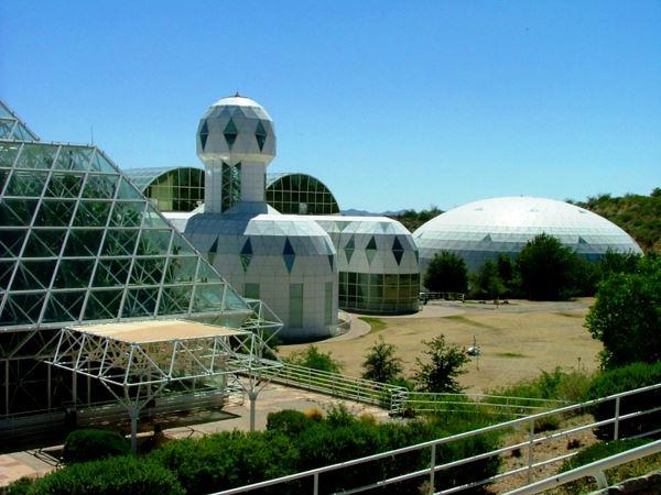 Штучний рай посеред пустелі: проект «Біосфера 2» (США)