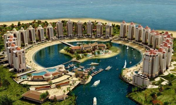Перлина Катару - розкішний штучний острів