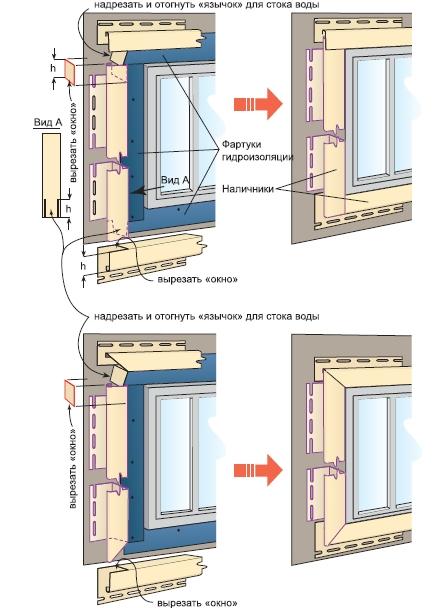 Окна отделка сайдингом своими руками пошаговая инструкция 80