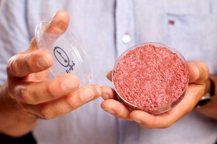 """Лабораторне м'ясо """"з пробірки"""" в промислових масштабах вже скоро"""