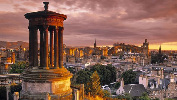 Stewart Monument, Calton Hill, Edinburgh, Scotland