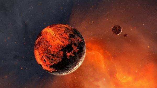Марс і супутники