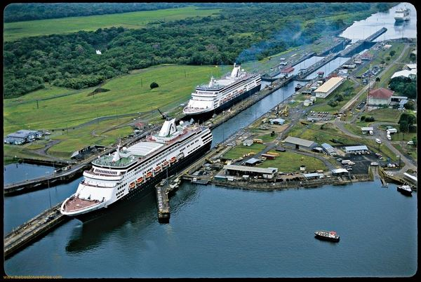 реконструкція панамського каналу