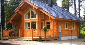 Как построить дом из клееного бруса