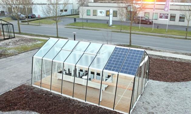 Во Франции создали теплицы на солнечных батареях
