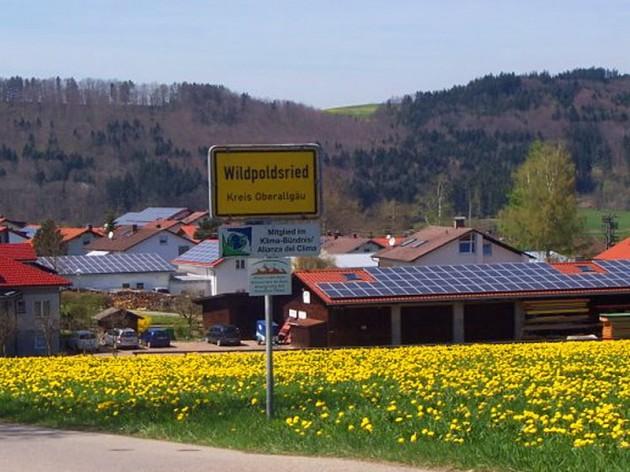 Деревня в Германии производит электроэнергии на 500% больше, чем потребляет