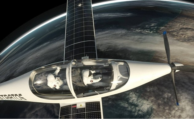 У 2018 році відбудеться перший політ сонячного літака в стратосферу