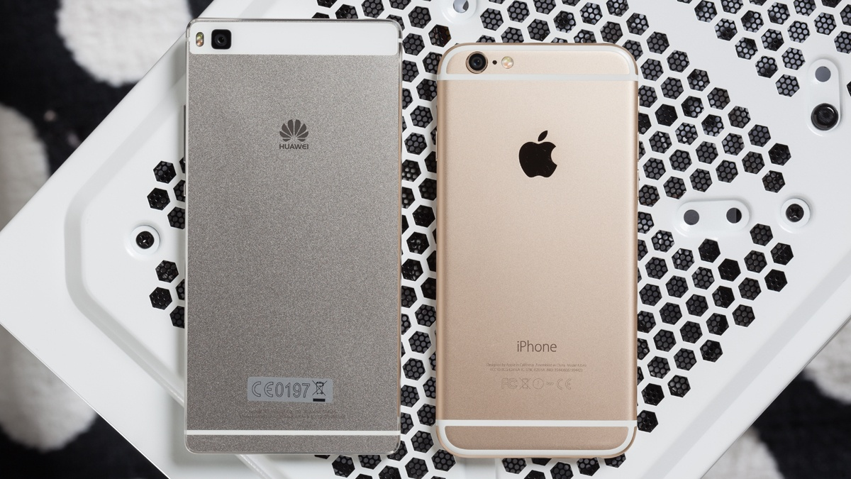 Huawei P8 vs iPhone 6