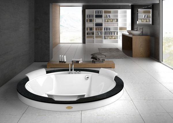 круглая ванна от Santehimport