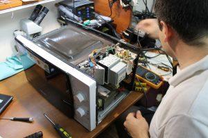 ремонт микроволновки фото
