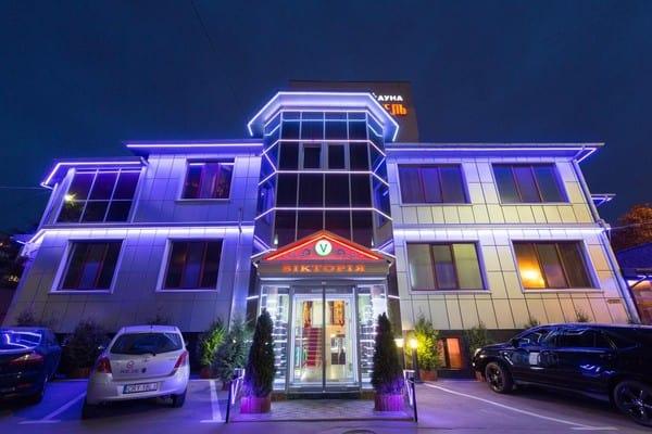 гостиница на ночь киев