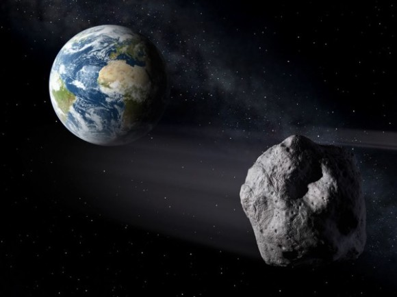 Космос: К Земле летит опасный астероид