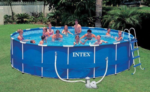 бассейн от INTEX