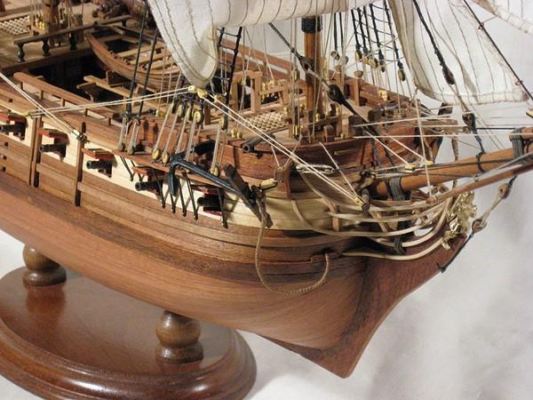 модели парусных кораблей-1