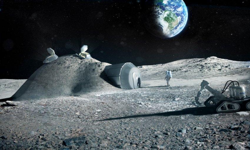 Эксперты: Объединение с Луной в одну экосистему поможет в спасении Земли