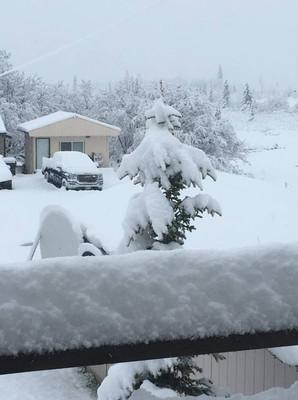 В июне на Аляску и штат Монтана вернулась зима